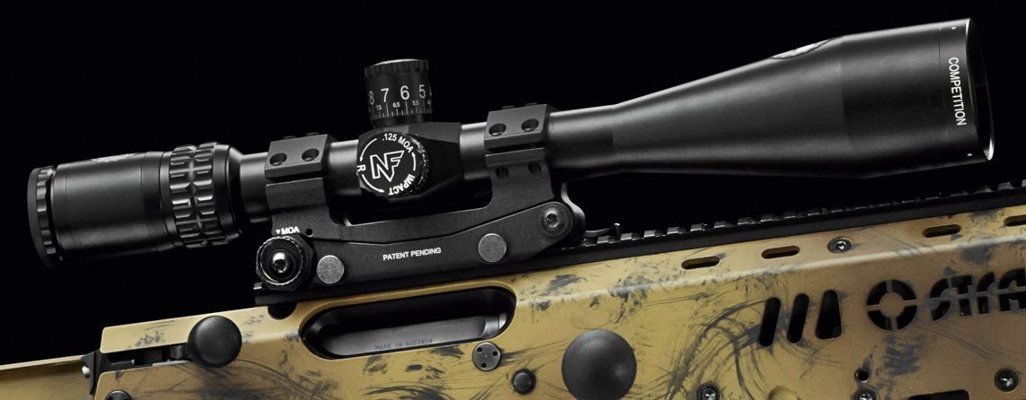 Nightforce riflescopes are the optimized solution