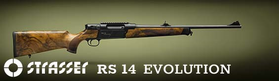 STRASSER RS 14 EVOLUTION hunting rifles