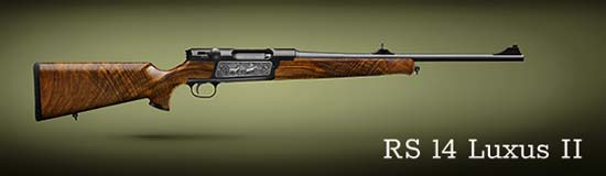 Hunting rifle STRASSER RS Luxus II