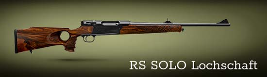 Hunting rifle STRASSER RS SOLO Lochschaft
